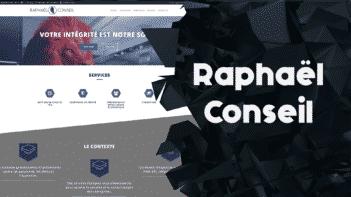 Conseil et support technique pour le référencement du site raphaelconseil.fr