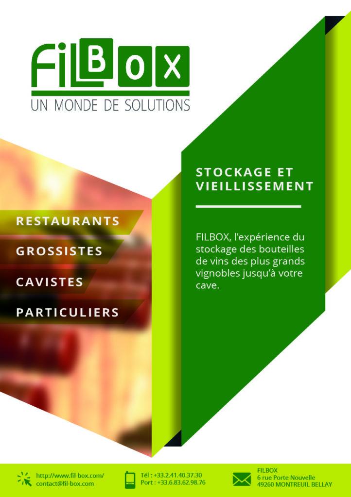 Création de Leaflets pour l'entreprise Filbox