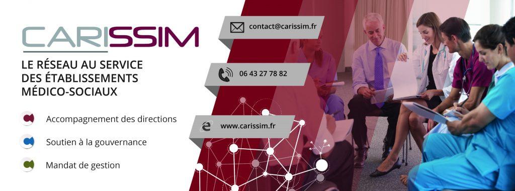 Création d'une publicité multiformats pour l'entreprise Carissim.