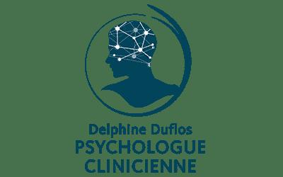 Communication locale Nous avons créé le logo et l'univers graphique ainsi que le site internet de la psychologue Delphine Duflos basée à Saumur.